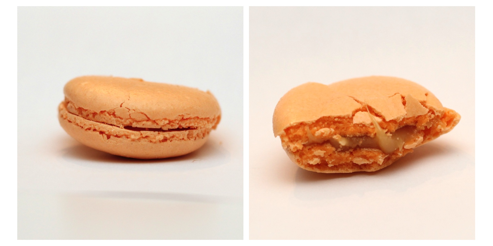 French Macaroons With Burnt Caramel Filling Recipes — Dishmaps